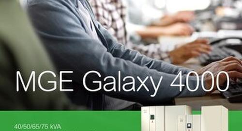 MGE Galaxy 4000 Brochure