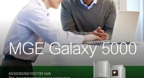 MGE Galaxy 5000 Brochure