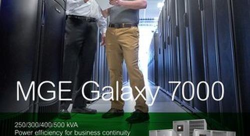 MGE Galaxy 7000 Brochure