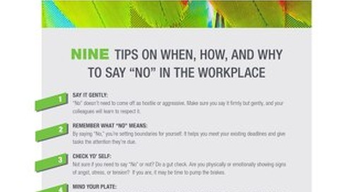 9 Tips on When, How and Why to Say No in the Workplace