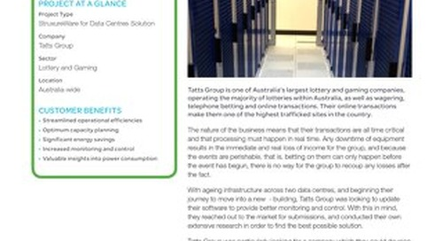 [Customer Testimonial] Uptime and Monitoring - Critical for one of Australia's largest lottery and gaming companies