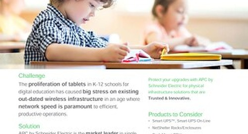 Solutions for K-12 schools in the digital age