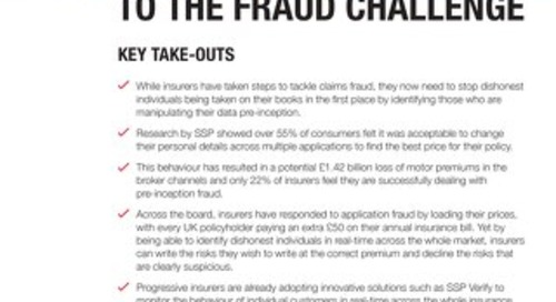 Stepping up to the fraud challenge