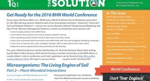 BHN 2016-1QTR Newsletter