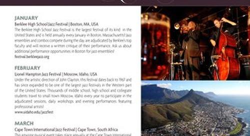 International Jazz Festivals