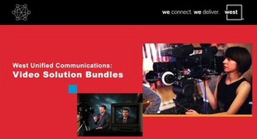 West UC Video Bundle Pricing