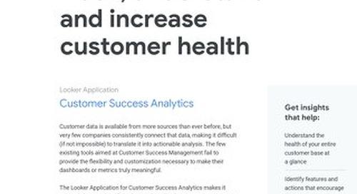 Looker for Customer Success Analytics