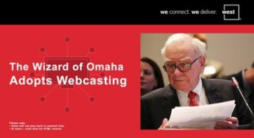 The Wizard of Omaha Adopts Webcasting