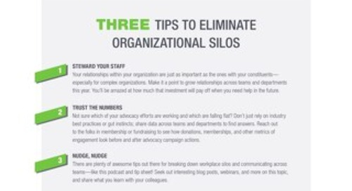 3 Tips to Eliminate Organizational Silos