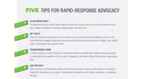 5 Tips for Rapid Response Advocacy