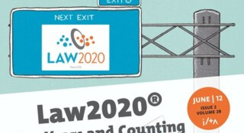 Law2020: Two Years and Counting (Summer 2012)