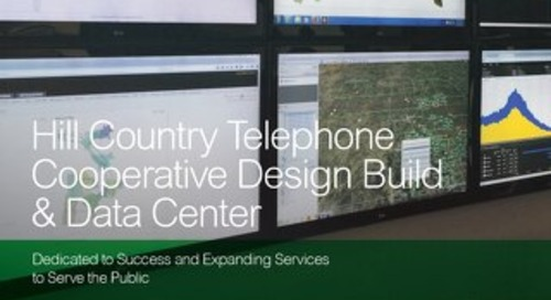 [Case Study] Hill Country Telephone Cooperative Design Build & Data Center