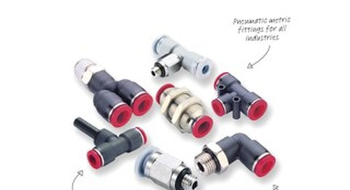 Pneufit C Fittings (Metric) - z7418BR