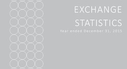 Elite Alliance Report of Key Operating Exchange Statistics 2015