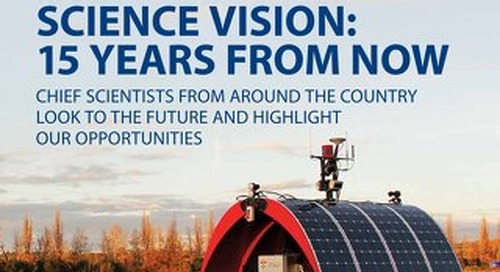 Focus 196: Science Vision: 15 years from now - Chief Scientists from around the country look to the future and highlight our opportunities