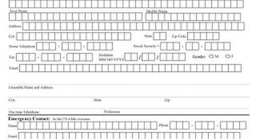 Assistant Registration Form