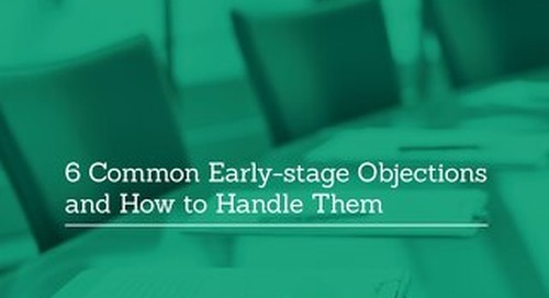 6 Common Early-stage Objections