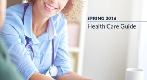 Spring 2016 Health Care Guide