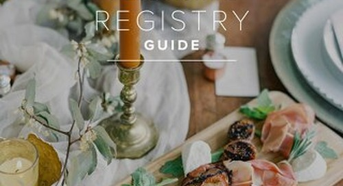 WeddingWire Registry Guide 2016