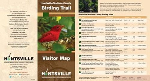 Huntsville/Madison County Birding Trail