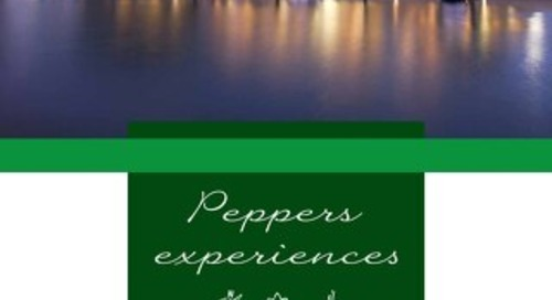 Peppers Blue on Blue Experience Brochure