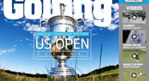 Thursday 16th June 2016 US Open