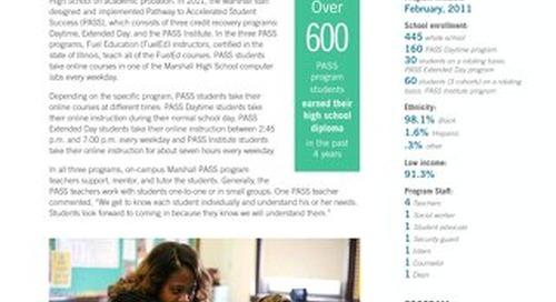 John Marshall Metropolitan High School Chicago, IL Academic Results