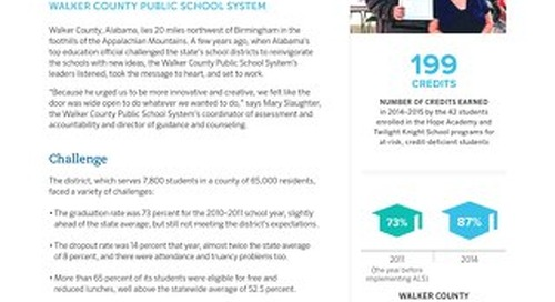 Walker County Public School System Case Study
