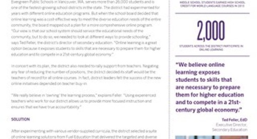 Evergreen Public Schools, WA Case Study