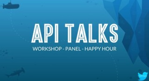 API Talks Workshop Slides