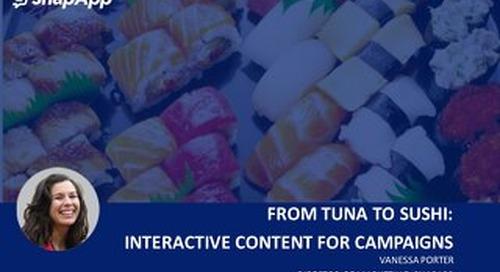 SLC Marketo User Group: Snackable Content