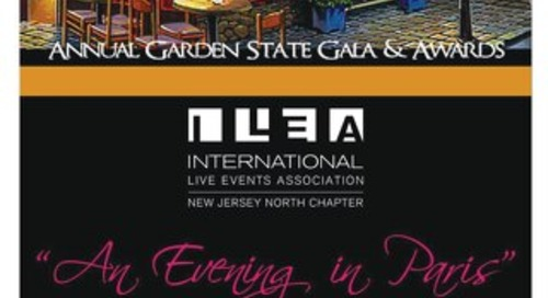 2016 ILEA NJ North Chapter Gala Awards Program