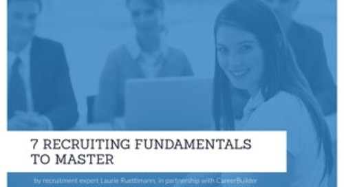 Master the Basics in Recruiting