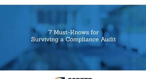 7Must-KnowsforSurvivingaComplianceAudit