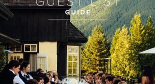 WeddingWire Guest List Guide 2016