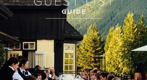 WeddingWire Guest List Guide 2016