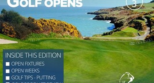 My Golf Opens Digital Magazine - Issue 3