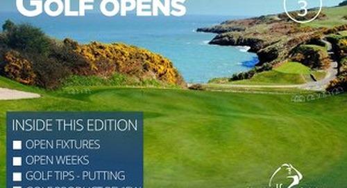 My Golf Opens Digital Magazine - Issue 3