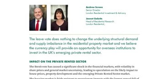 Residential Brexit Briefing