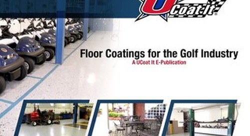Floor Coatings for the Golf Industry