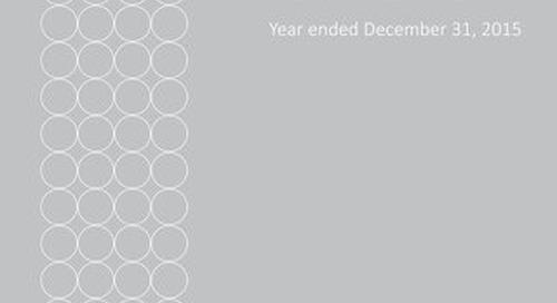 Elite Alliance Disclosure Statement Year Ended December 31, 2015