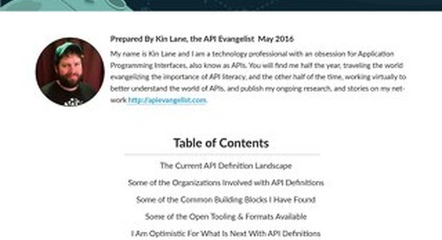 The Industry Guide to API Definitions
