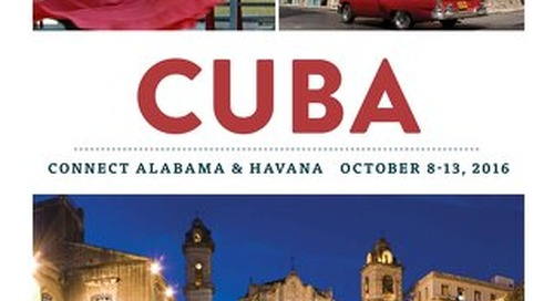 Cuba - Connect Alabama & Havana Oct 2016