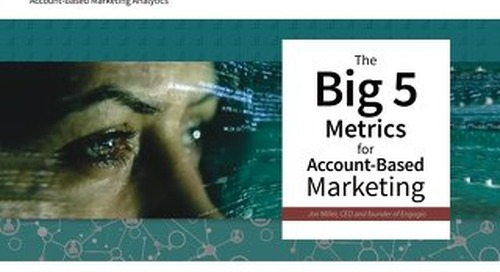 The Big 5 Metrics for ABM