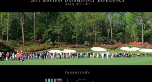 2017 Masters Experiences