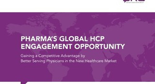 eBook: Pharma's Global HCP Engagement Opportunity