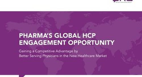 eBook: Pharma's Global HCP Engagement Opportunity