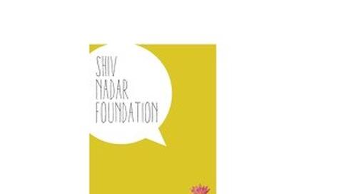 Shiv Nadar Foundation Annual Report 2014 USD