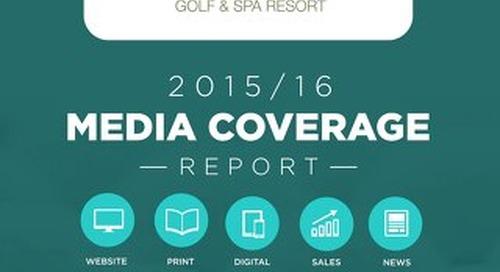 Farnham Estate Golf Resort 2015-16 Coverage Report
