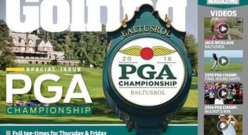 Thursday 28th July 2016 US PGA